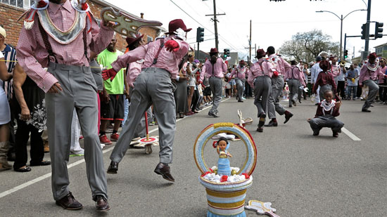 2015 Second Line II, Treme by Charles Lovell