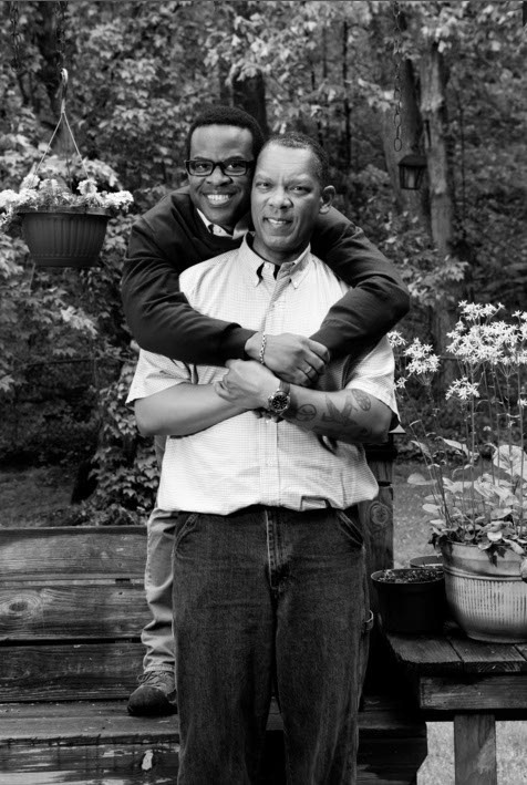 Thomas and Don, together 17 years by B. Proud, Archival Inkjet Print