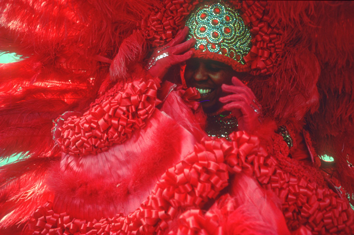 Spy  Boy Mardi Gras Indian