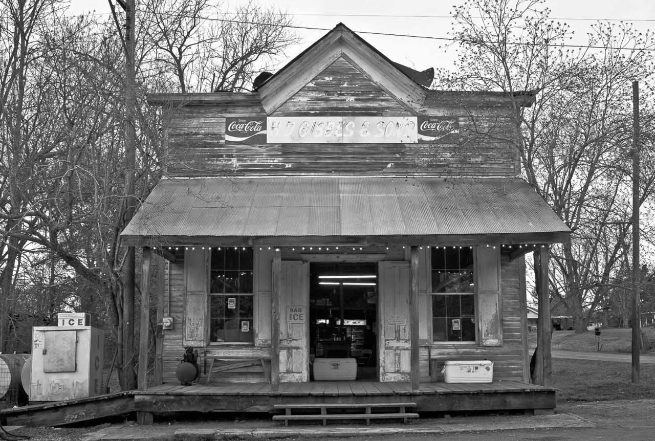 False-Front Store, Mississippi, by Don Norris