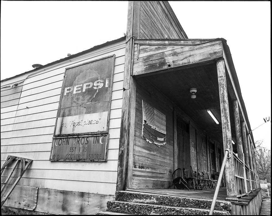 Old Country Store, Lorman Mississippi, 2009, by David Rodrigue