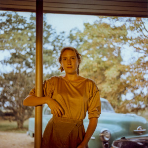 "Maude Schuyler Clay, ""Bonnie Claire, Green Car,"" (No Date), Chromogenic Print, Collection of the Artist"