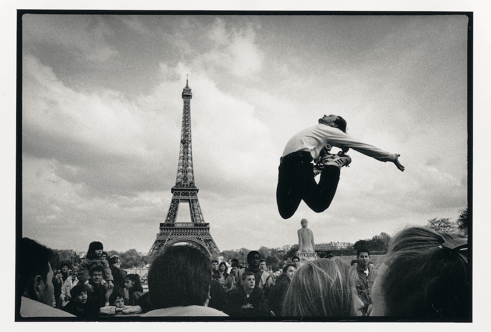 The jump, Paris