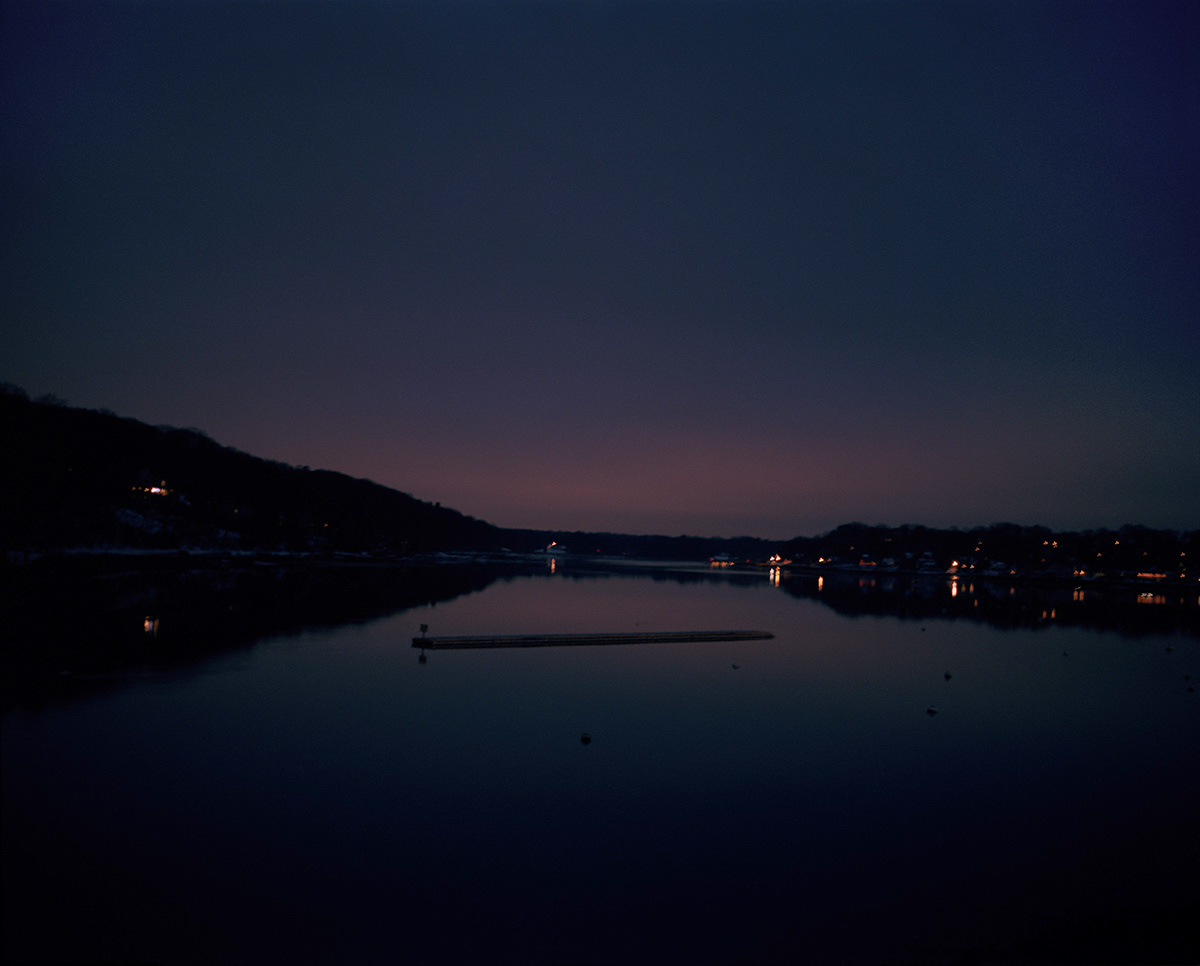 Bayville Bridge (Night), by Marisa Chafetz