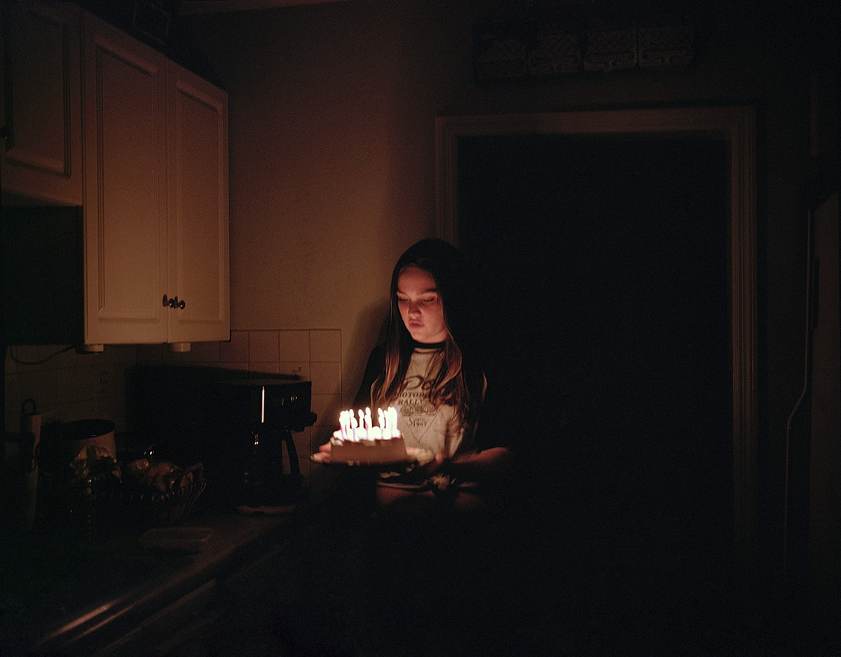 arah and the Birthday Cake (High Street), by Marisa Chafetz