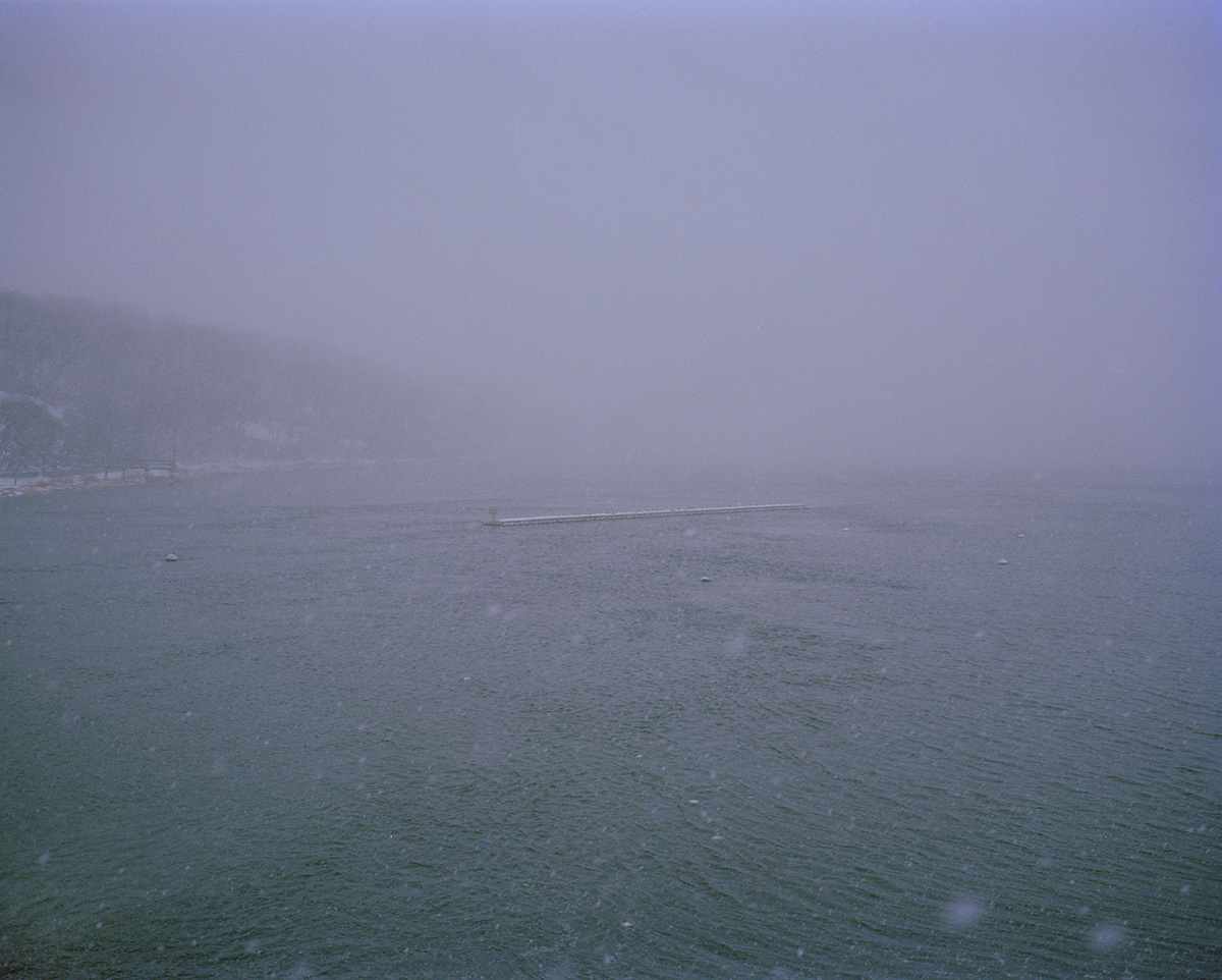 Bayville Bridge (Snow), by Marisa Chafetz