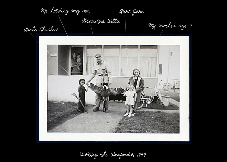 Visiting the Warfords, 1944