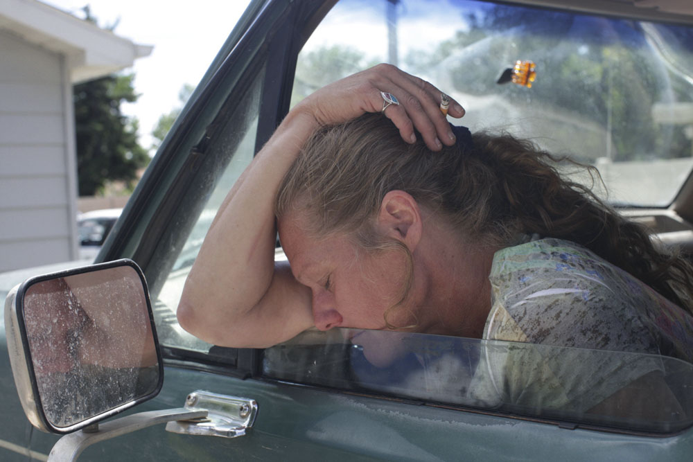 """""""You know what's nice?"""" she asked me as we left the gas station, """"Being able to get in the car and go to the store. Without asking."""""""