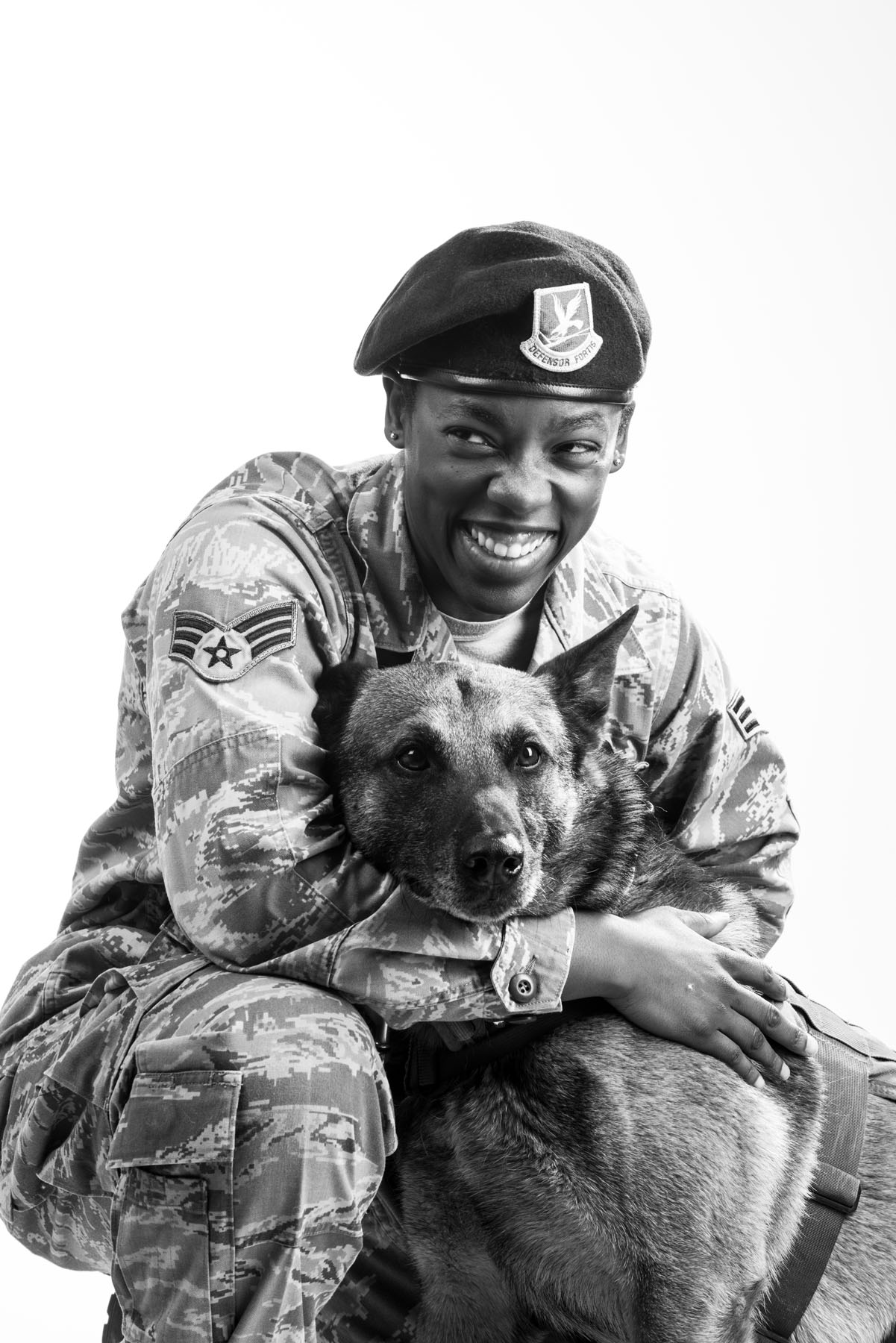 Veterans Portrait Project: Candace Colburn , photo by: Beverly Groogan