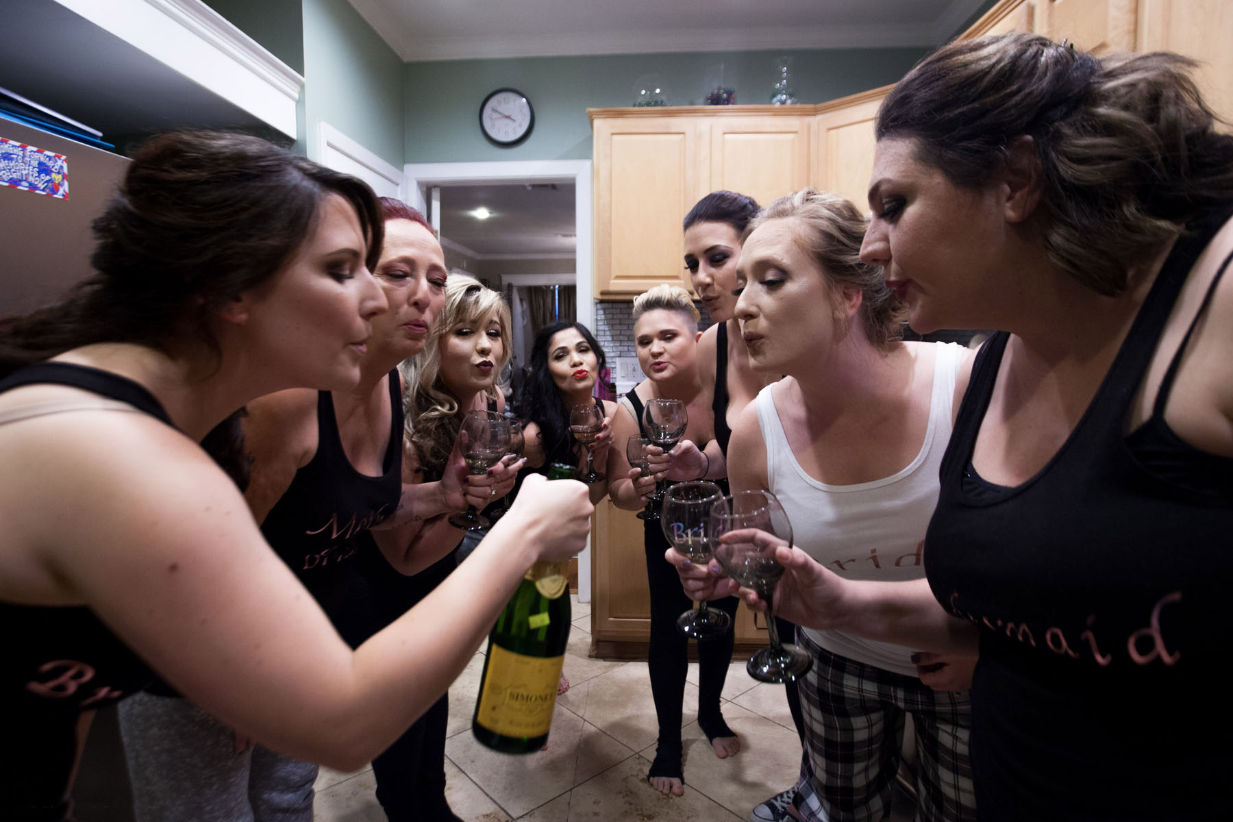 Popping Bottles, photo by: Audrey Graham