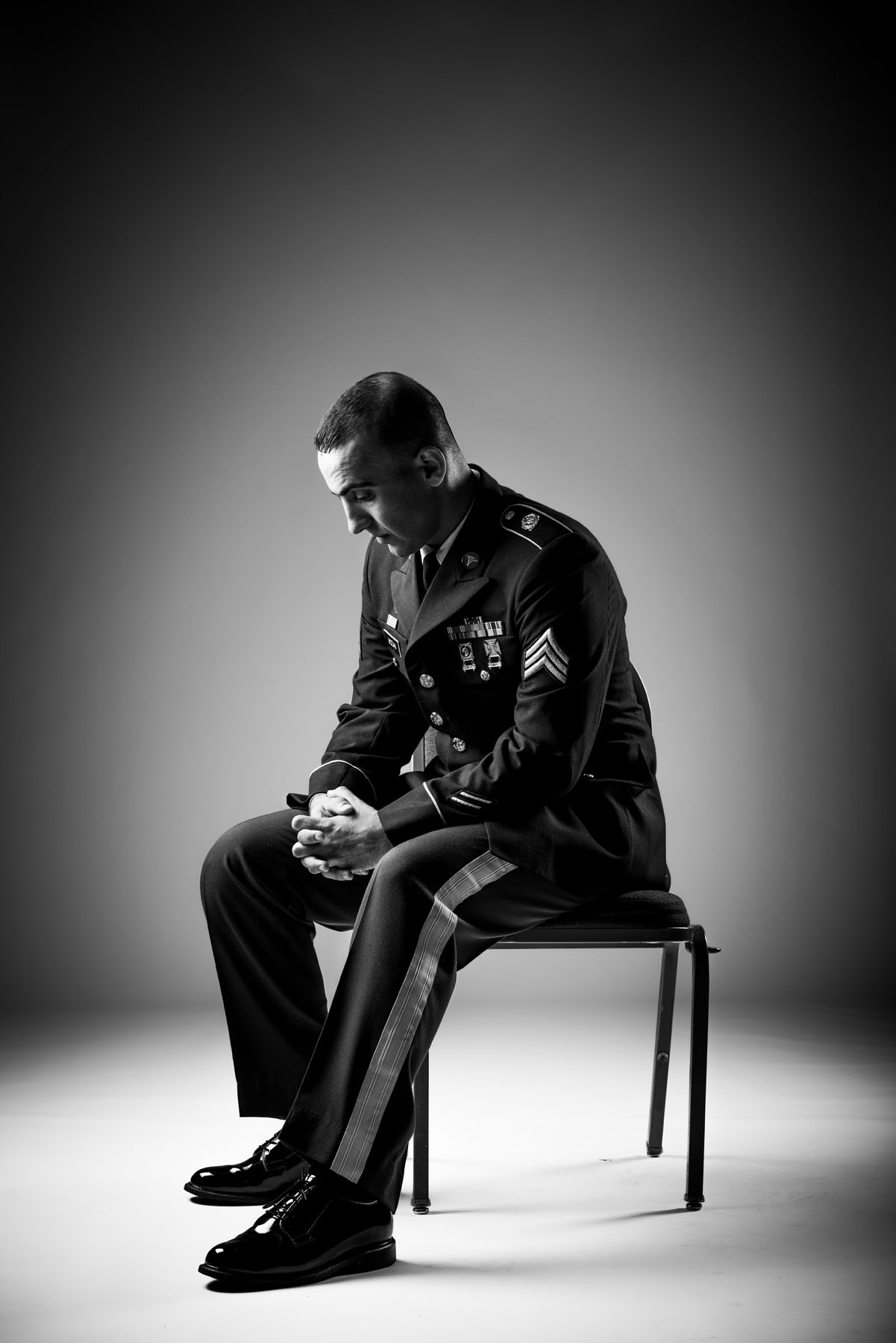 Veterans Portrait Project (Mazin Mozan), photo by: Stacy L. Pearsall