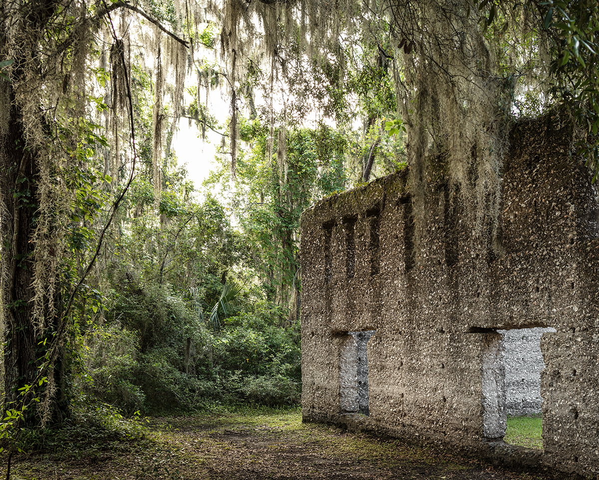 The Tabby Ruins, St Mary, Georgia