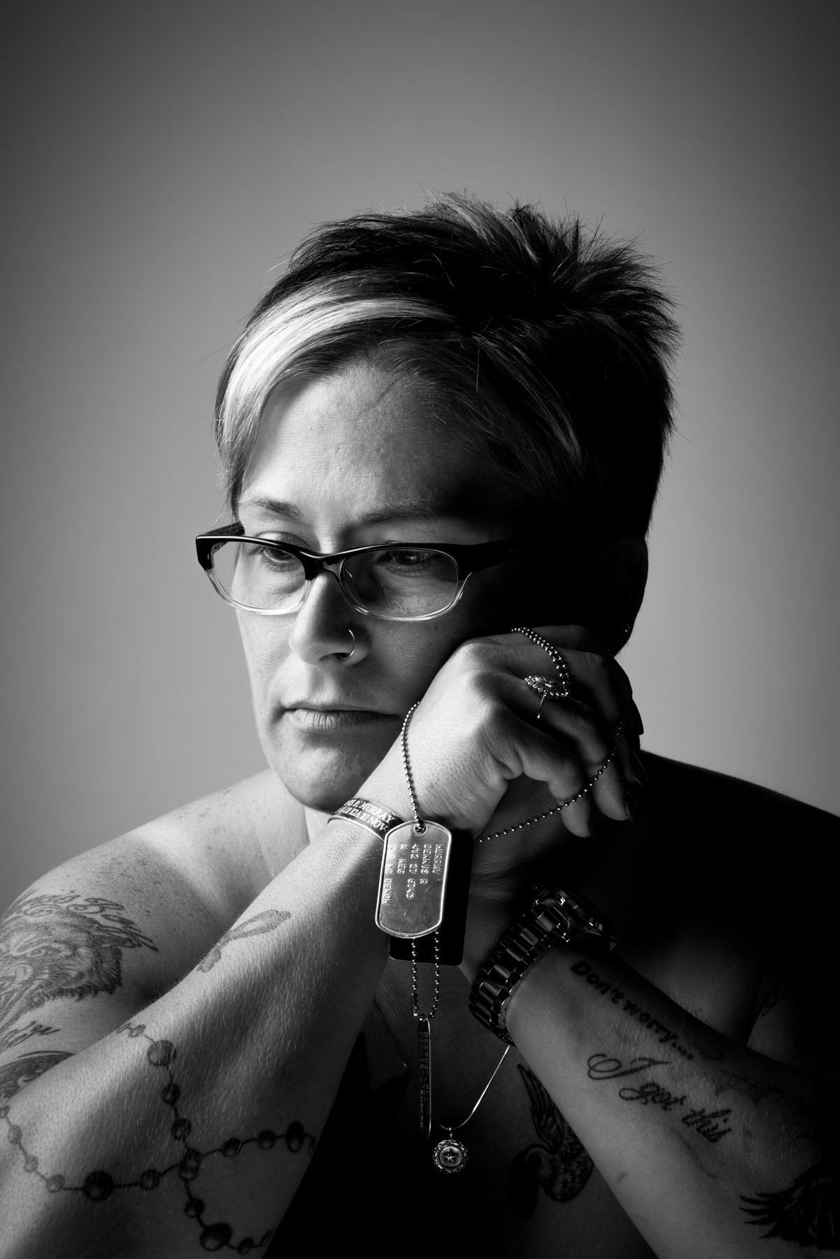 Veterans Portrait Project: Shelee Murray, photo by: Stacy L. Pearsall