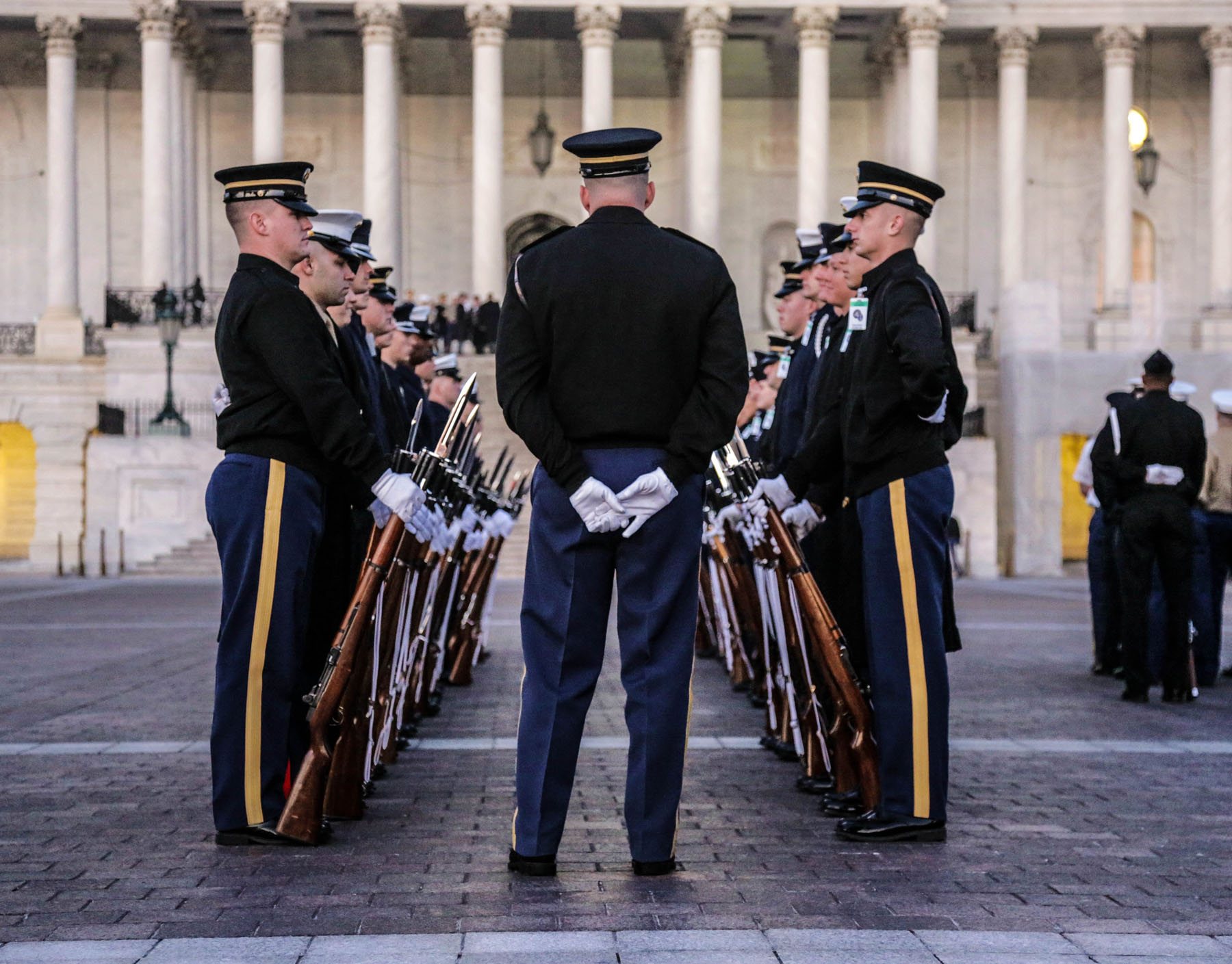 State Funeral, photo by: Pfc. Noel Toye