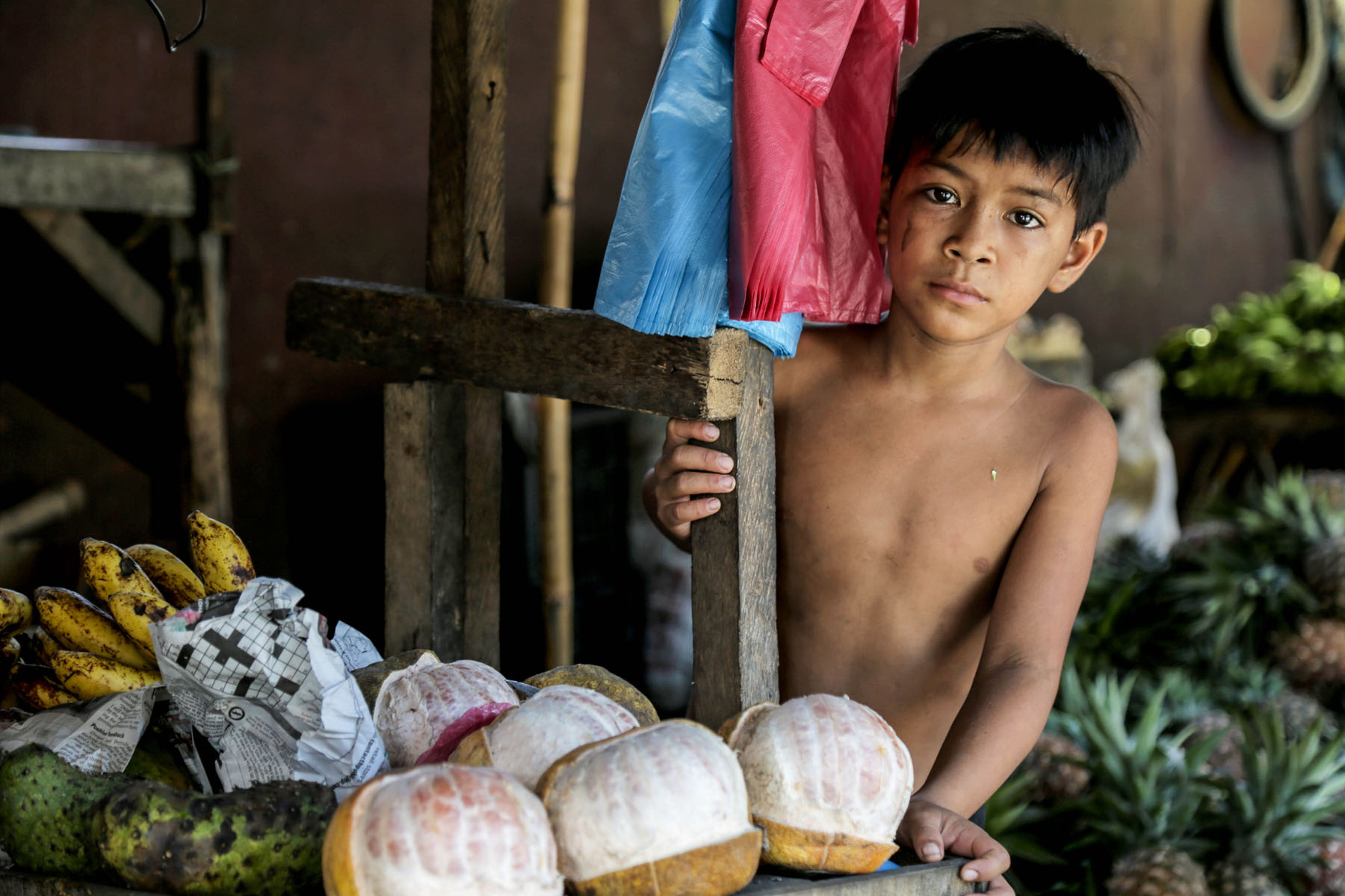 Young Boy, Philipines, photo by: Pfc. Noel Toye
