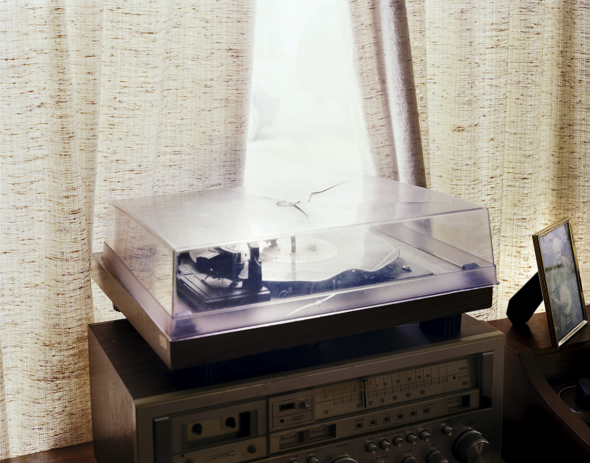 Tom McCarroll's Old Record Player. Lenoir City, TN